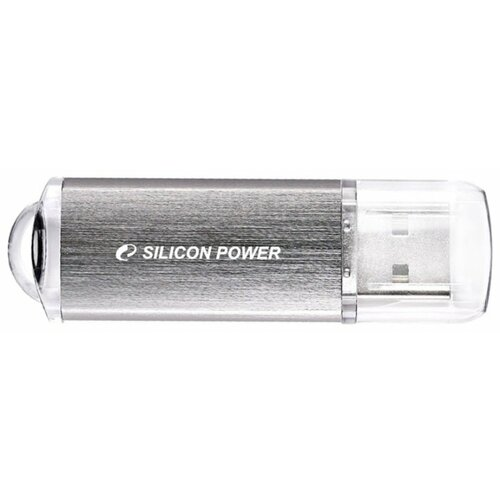 Фото - Флешка Silicon Power UFD ULTIMA II-I 8Gb silver 1 шт. штатная магнитола ssangyong actyon ii 2010 2013 wide media wm vs7a706nb 1 16 rp tyacb 61 android 7 1 2