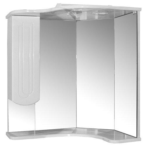 Шкаф для ванной Mixline Корнер левый, (ШхГхВ): 63х46х70 см, белый