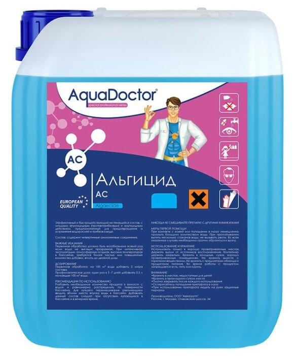 Купить AquaDoctor, АЛЬГИЦИД НЕПЕНЯЩИЙСЯ, 1л бутылка, жидкость для борьбы с водорослями, уп.1 по низкой цене с доставкой из Яндекс.Маркета (бывший Беру)