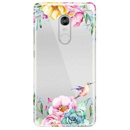 Купить Чехол-накладка UVOO U002937XIA для Xiaomi Redmi Note 4 колибри