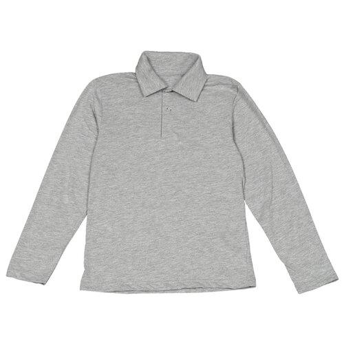 Купить Поло Снег размер 158, светло-серый, Футболки и майки