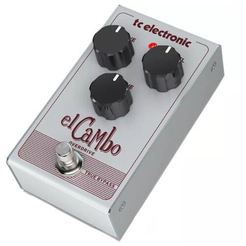 TC Electronic Педаль EL Cambo Overdrive tc electronic педаль nether