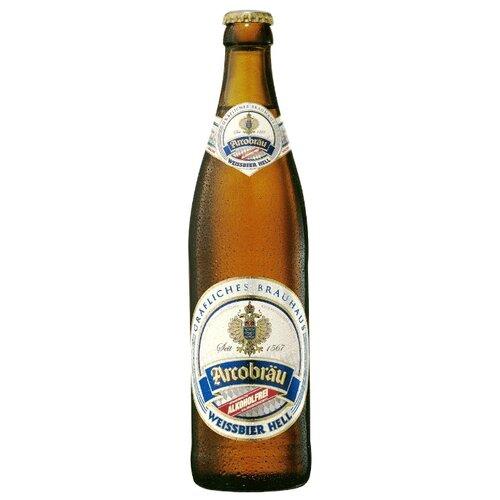 Светлое пиво Arcobrau Weissbier Hell безалкогольное 0.5 л