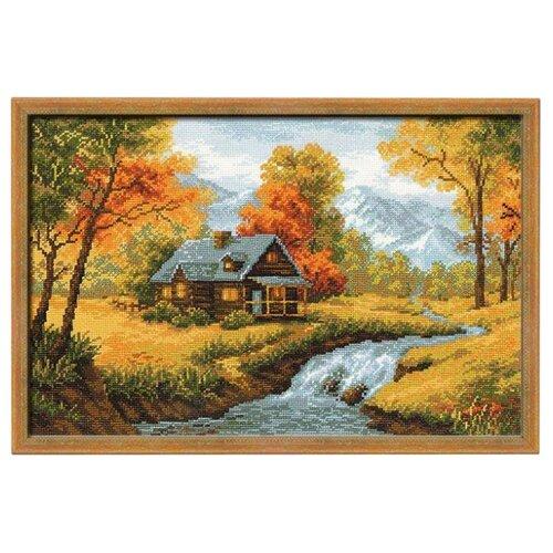 Купить Риолис Набор для вышивания крестом Осенний пейзаж 38 х 26 см (1079), Наборы для вышивания