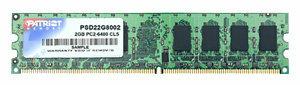Оперативная память 2 ГБ 1 шт. Patriot Memory PSD22G8002