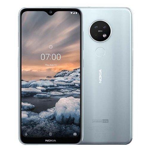 Смартфон Nokia 7.2 64GB серебряный смартфон