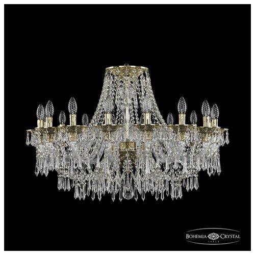 Люстра Bohemia Ivele Crystal Ivele Crystal 16103/16/300 G, E14, 640 Вт абажур bohemia ivele sh22