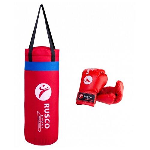 Набор для бокса RUSCO SPORT 4oz красный
