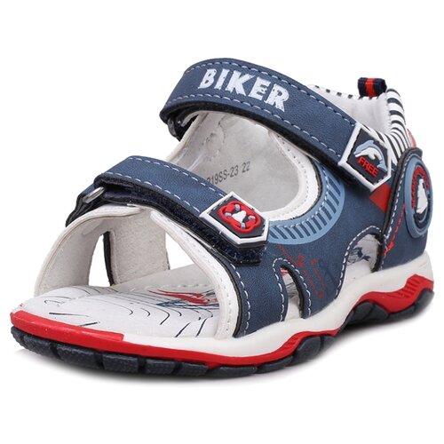 Сандалии Biker размер 24, темно-синийОбувь для малышей<br>