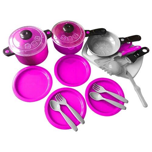цена на Набор посуды Orion Toys Ириска 3 фиолетовый