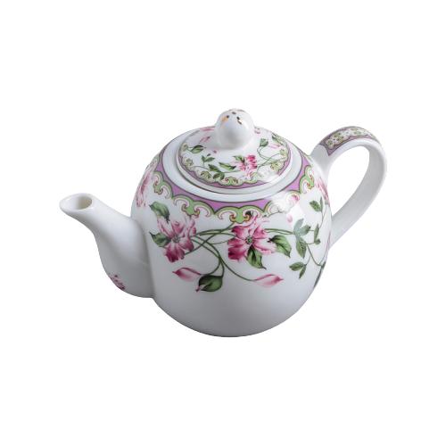 Доляна Чайник заварочный Бланко 800 мл, белый доляна чайник заварочный восточная ночь 600 мл зеленый