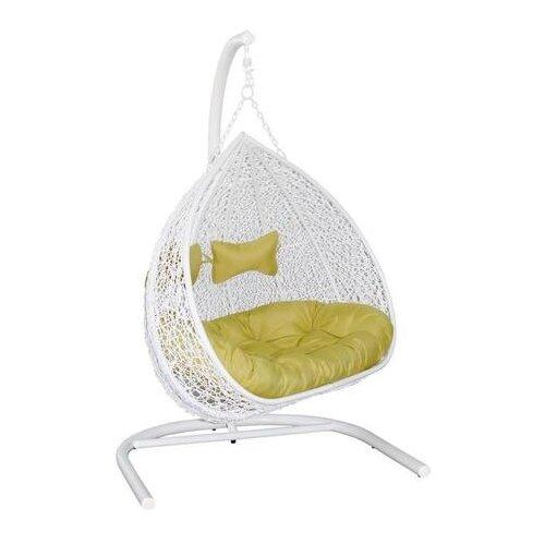 Подвесное кресло ЭкоДизайн Gemini, белый