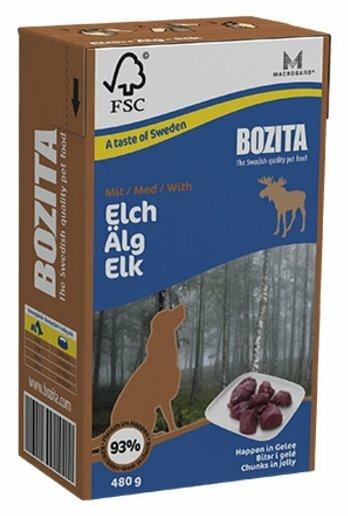 Корм для собак Bozita лось 480г
