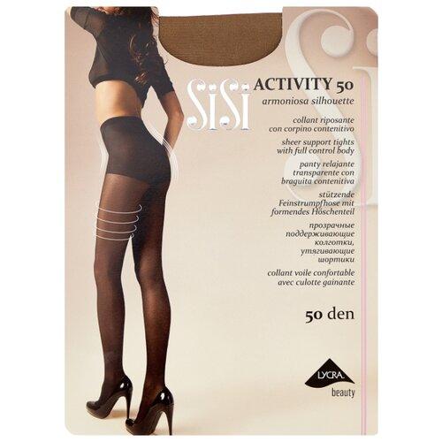 Фото - Колготки Sisi Activity 50 den, размер 3-M, miele (бежевый) колготки sisi activity 30 den размер 3 m naturelle бежевый