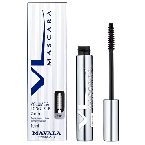 Mavala Тушь для ресниц Volume & Length Creamy, черный