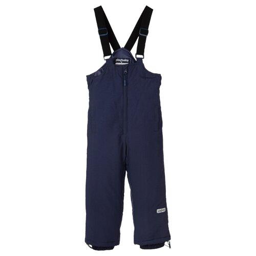 Купить Полукомбинезон playToday 391160 размер 98, темно-синий, Полукомбинезоны и брюки