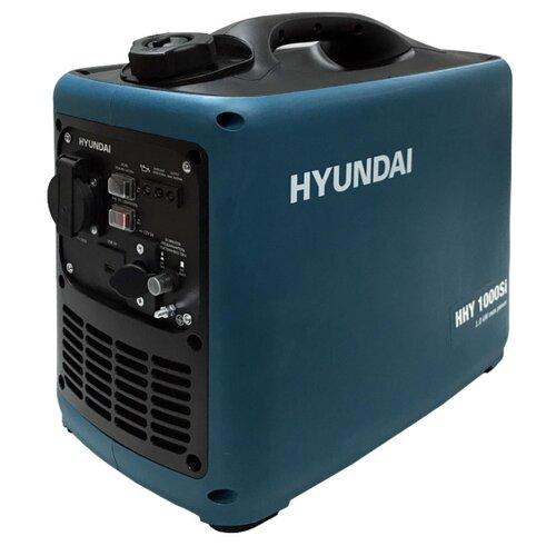 Бензиновый генератор Hyundai HHY 1000Si (900 Вт) бензиновый генератор hyundai hhy 7020fe 5000 вт