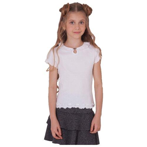 Блузка Снег размер 152, белыйРубашки и блузы<br>