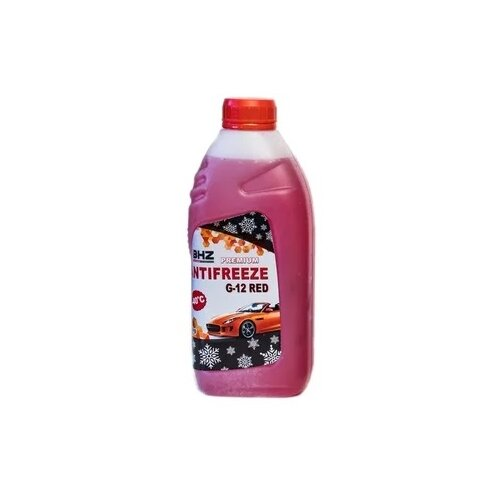 Антифриз БХЗ Антифриз PREMIUM G12 RED 1 кг