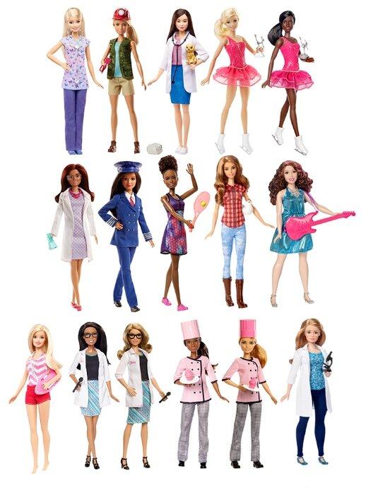 Кукла Barbie Кем быть? DVF50 купить по цене 780 на Яндекс.Маркете