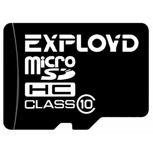 Карта памяти EXPLOYD microSDHC Class 10 16GB