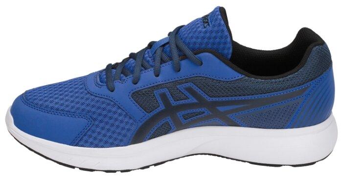 Кроссовки беговые Asics Stormer 2, 43.5, синий, Для разного уровня, синтетика