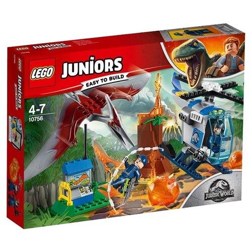 цены Конструктор LEGO Juniors 10756 Побег Птеранодона