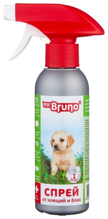 Mr.Bruno спрей от блох и клещей репеллентный