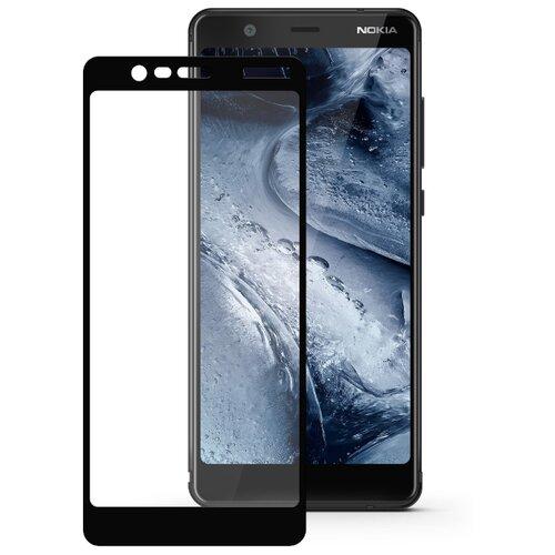 Защитное стекло Mobius 3D Full Cover Premium Tempered Glass для Nokia 5.1 черный аксессуар защитное стекло для nokia 3 5 inch gecko 0 26mm zs26 gnok3