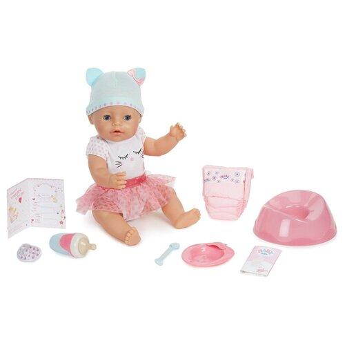 Купить Интерактивная кукла Zapf Creation Baby Born Blue Eyes 43 см, 916-007, Куклы и пупсы