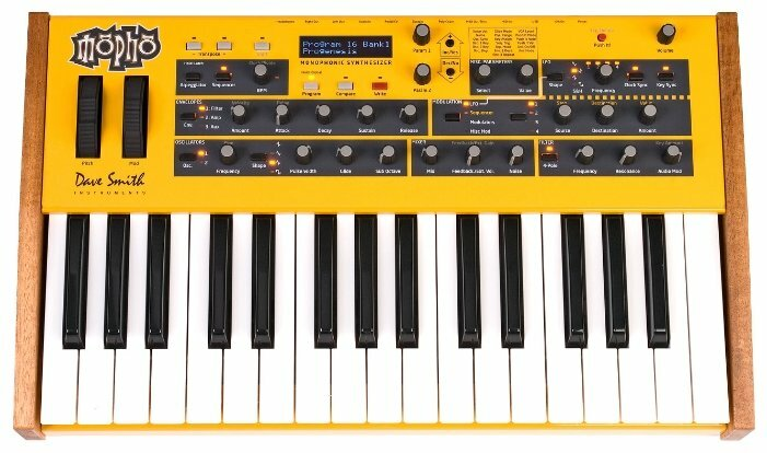 Синтезатор Dave Smith Instruments Mopho Keyboard