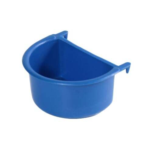Кормушка Вака с пластиковыми крючками 24941 для птиц синий/зеленый