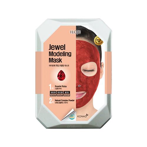 Купить Konad Моделирующая альгинатная маска с рубиновой пудрой для гладкости кожи Iloje Jewel Modeling Mask, 55 г
