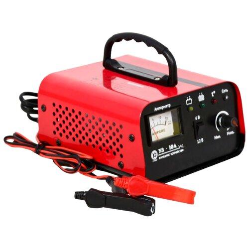 Зарядное устройство КАЛИБР УЗ-10А красный зарядное устройство калибр уз 10а
