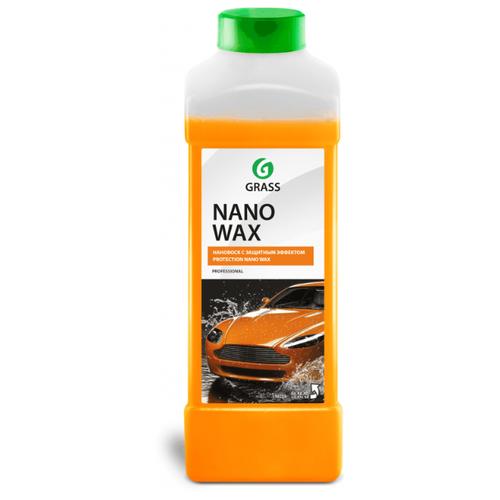 Воск для автомобиля GraSS жидкий Nano Wax 1 л
