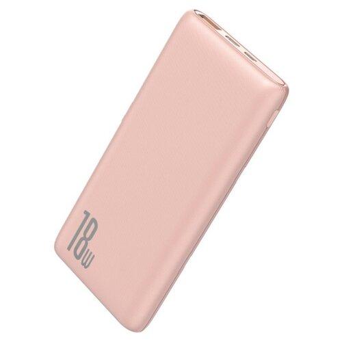 Аккумулятор Baseus Bipow PD+QC Power Bank 10000mAh 18W, розовый