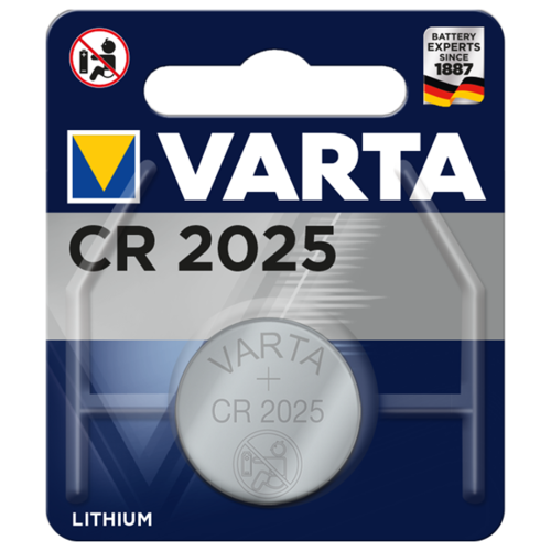 Фото - Батарейка VARTA CR2025, 1 шт. батарейка varta cr p2 1 шт