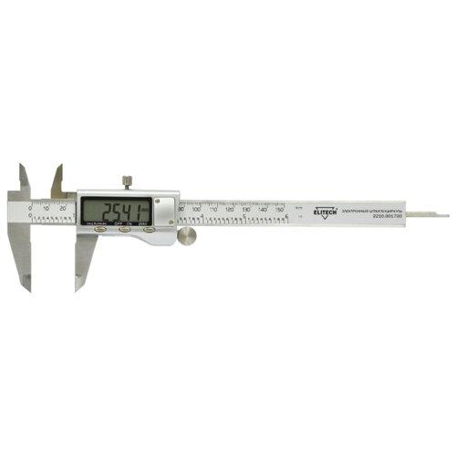Цифровой штангенциркуль ELITECH 2210.001700 150 мм, 0.01 мм цифровой штангенциркуль norgau ip67 200мм 0 01мм 040051020