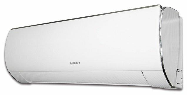 Настенная сплит-система GREEN GRI/GRO-30HH2 — купить по выгодной цене на Яндекс.Маркете