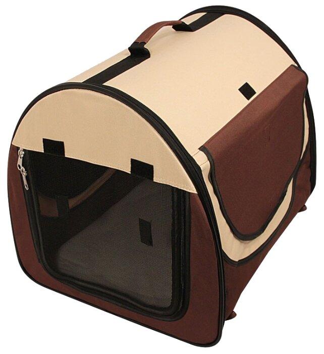 Переноска-домик для собак Triol 1039М 65х49х50 см