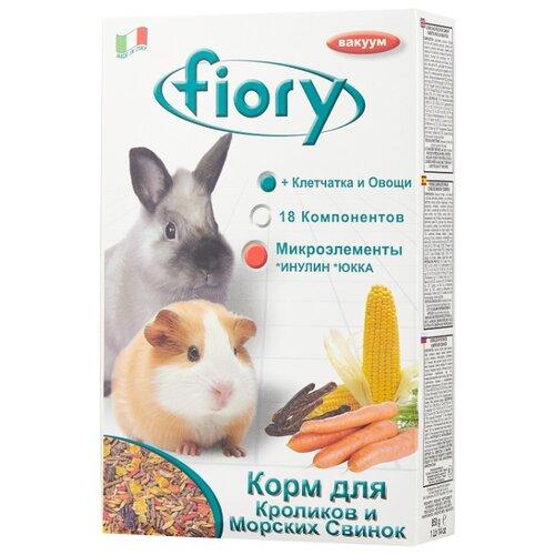 Корм для для карликовых кроликов и морских свинок Fiory Superpremium Conigli e cavie 850 г