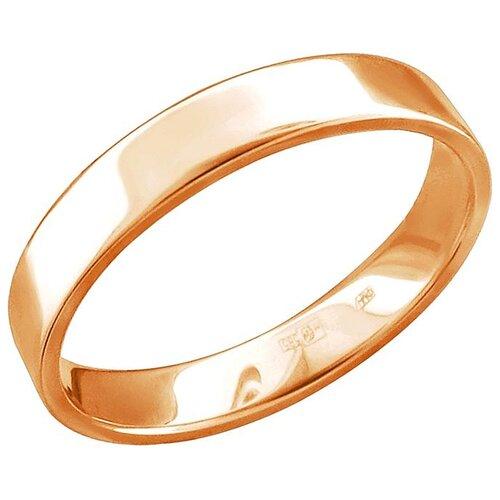 Эстет Кольцо из красного золота 01О010465, размер 20