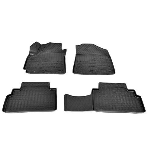 Комплект ковриков NorPlast NPA11-C43-710 Kia Soul 4 шт. черный