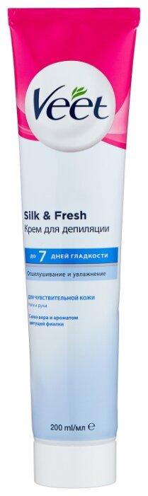 Veet Крем для депиляции для чувствительной кожи с Алоэ вера и витамином Е