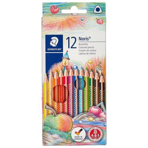 Купить Staedtler Карандаши цветные Noris club 12 цветов (127 NC12), Цветные карандаши