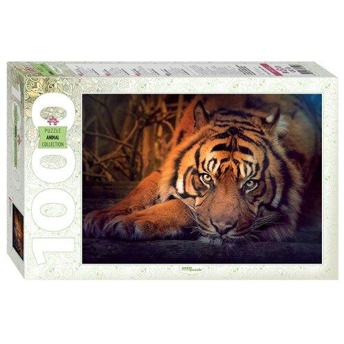 Купить Пазл Step puzzle Animal Collection Сибирский тигр (79142), 1000 дет., Пазлы