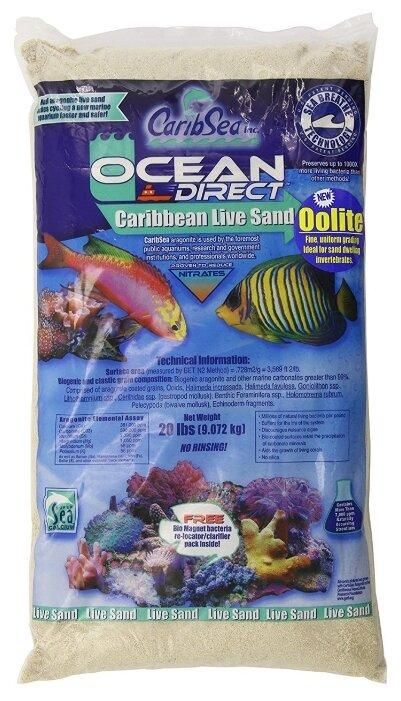 Грунт CaribSea Ocean Direct Oolite, 9.07 кг