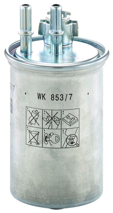 Топливный фильтр MANNFILTER WK853/7