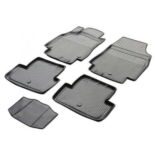 Комплект ковриков RIVAL 13801001 Mazda 3 5 шт. черный