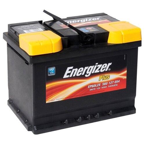 Автомобильный аккумулятор Energizer Plus EP60L2X